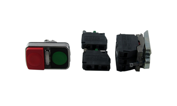 START/STOP ILLUM GREEN/RED 1 N/C, 3 N/O
