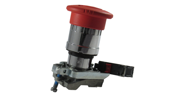 RED STOP BUTTON TURN RELEASE 1 N/C