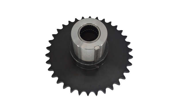 HERRINGBONE CONVERSION CONSISTING OF NEEDLE BEARING HUB AND 35 TOOTH SPROCKET