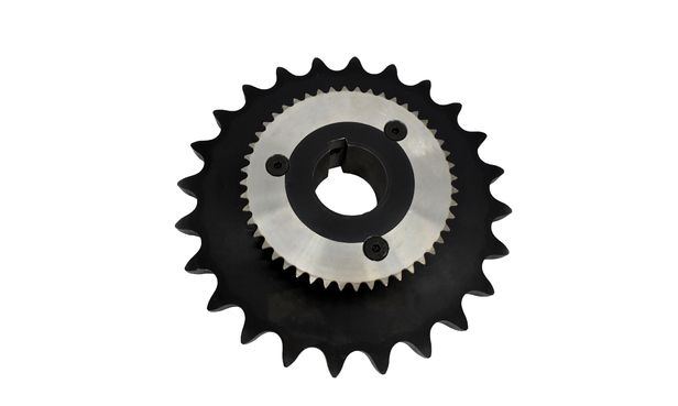 PUMP & MOTOR SPROCKET 100B24 DRIVE SPROCKET WITH A 35A48 SPROCKET FOR THE BIJOR OILER