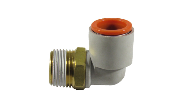 "ELBOW SWIVEL 3/8"" NPT X 1/2"" OD"