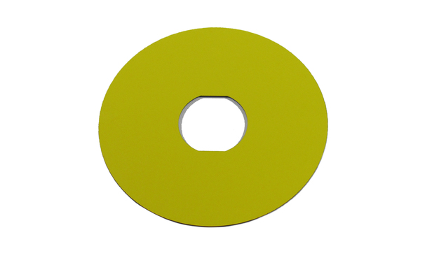 PLATE YELLOW
