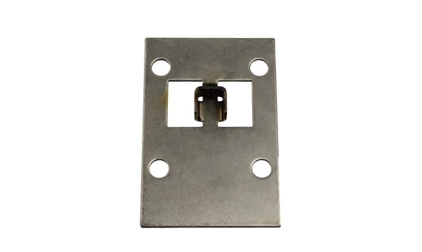 PLATE FOR SMALL DOOR LATCH