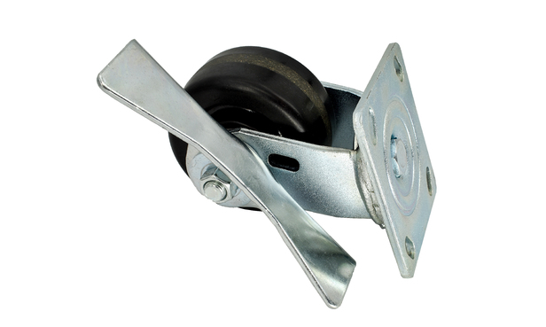 "SWIVEL CASTER W/2"" BRAKE KIT ASSEMBLY"