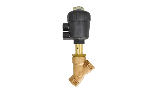 "3/4"" NPT BRASS N/C STEAM VALVE"