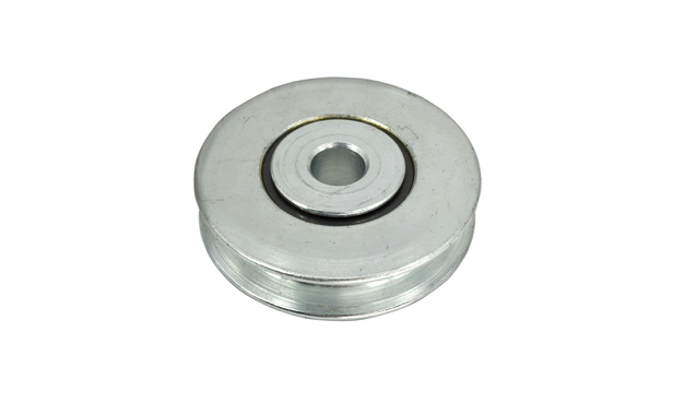 PULLEY, ZINC PLATE