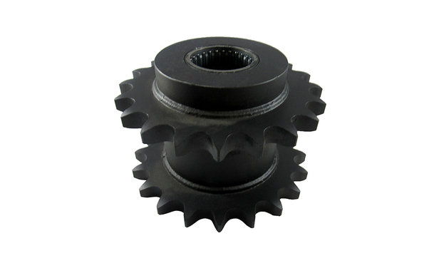 SPROCKET CLUSTER, REAR CLUSTER 2 20T 80 CHAIN