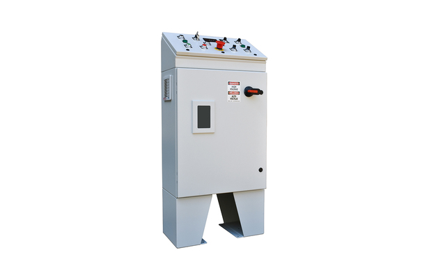 UL LISTED 460 VOLT 10HP INVERTER CABINET WITH 2HP BLOWER CONTROLS