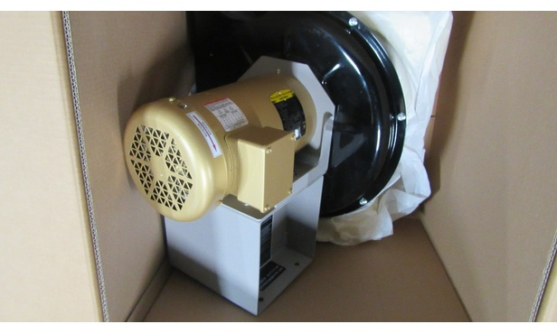 SPB-12 3HP 3450RPMS MOTOR & FAN