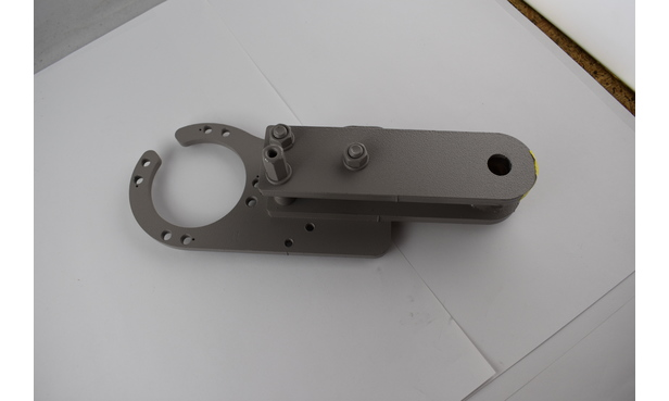 LH UPPER CLUTCH MOUNT ASSEMBLY