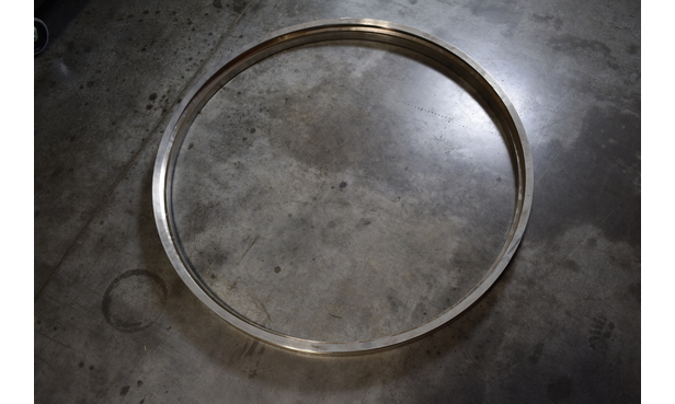 CLAMP RING W/SERVICE KIT