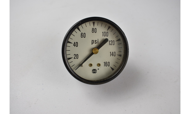 USG PRESSURE GAUGE, 0-160PSI, 1/4NPT