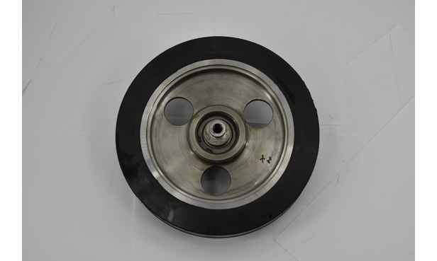 SENKING DRYER WHEEL DT36-DT120 310MM, COMPLETE WITH BEARING