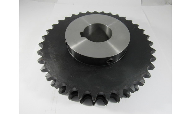 "35-2 60-CHAIN SPROCKET, FOR MOTOR/ GEARBOX FOR RIGHT HAND DRIVE CONVERSION - 2"" BORE"
