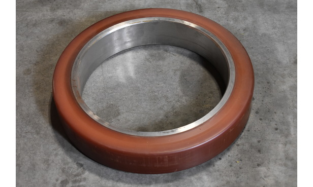 WHEEL, FRICTION LT, POLYURETHANE, WASHER