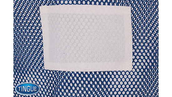 Net Bag - ID Patch - Blue